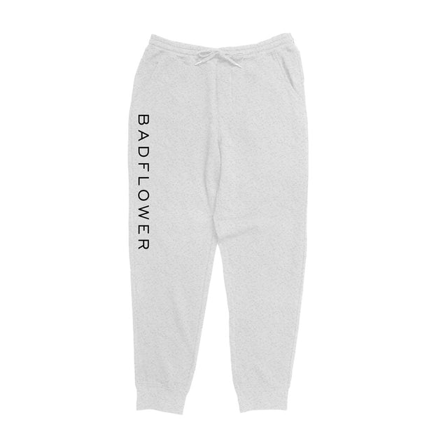 Badflower Logo Sweatpants (Heather Gray)