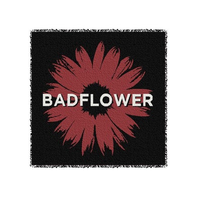Badflower Daisy Woven Blanket