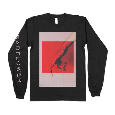 Drip Long Sleeve Tee (Black)