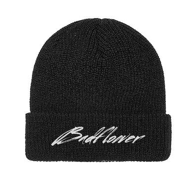Badflower Mustang Logo Cuff Beanie(Black)