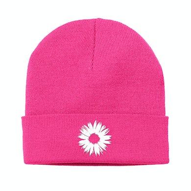 Badflower Flower Cuff Beanie (Pink)