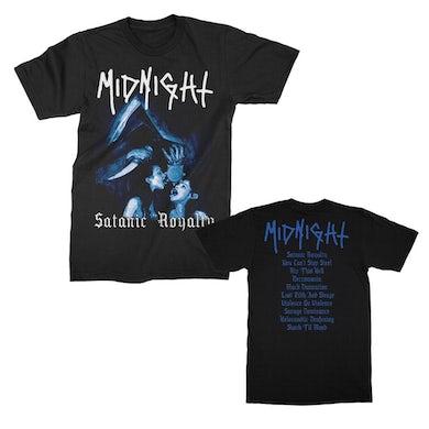 Midnight Satanic Royalty T-Shirt (Black)