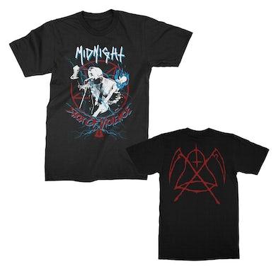 Midnight Shox of Violence T-Shirt (Black)
