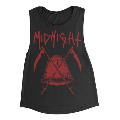 Midnight Bell Women's Muscle Tank (Black)