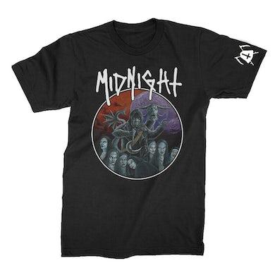 Midnight Rebirth By Blasphemy T-Shirt (Black)
