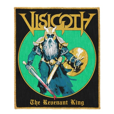 Visigoth Revenant King Woven Patch (Gold Edges)