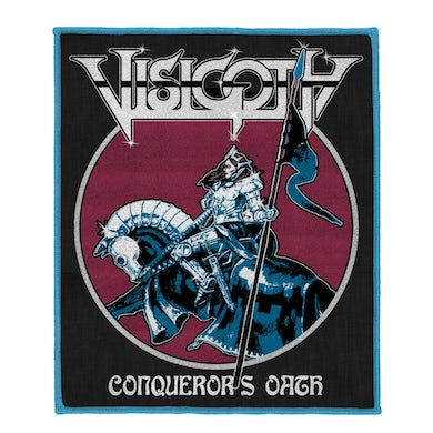Visigoth Conqueror's Oath Woven Patch (Blue Edges)
