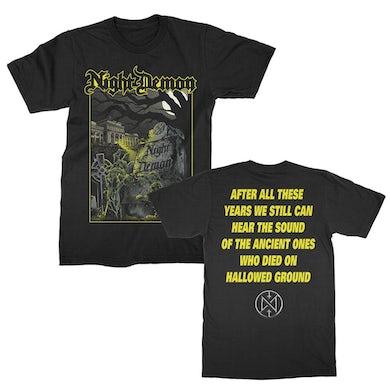 NIGHT DEMON Hallowed Ground T-Shirt (Black)