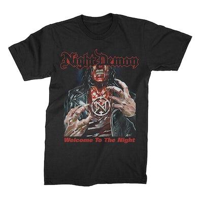 NIGHT DEMON WTTN T-Shirt (Black)