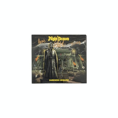 Night Demon - Darkness Remains Autographed CD