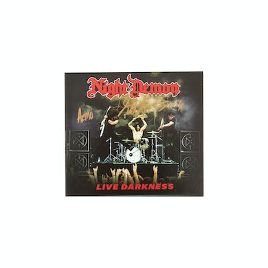 Live Darkness Autographed 2xCD