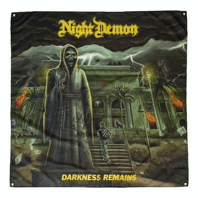 NIGHT DEMON Darkness Remains Flag (4'x4')