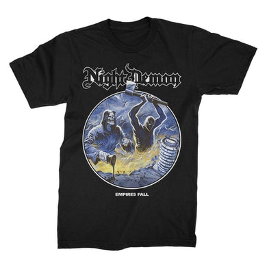 NIGHT DEMON Empires Fall T-Shirt (Black)