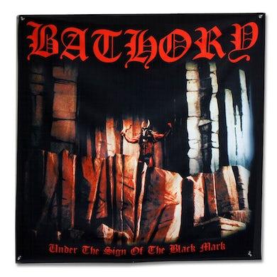 "Bathory Under The Sign Of The Black Mark Flag (48"" x 48"")"