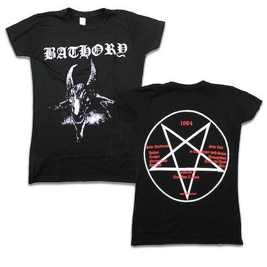 Bathory Goat T-Shirt (Black) - Juniors