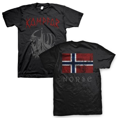 Kampfar Norse T-Shirt (Black)