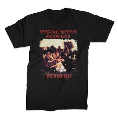 Witchfinder General Death Penalty Tee