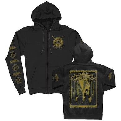 Wolves In The Throne Room Thrice Woven Zip-up Hoodie (Black)