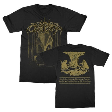 Thrice Woven T-Shirt (Black)