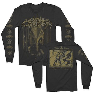 Wolves In The Throne Room Thrice Woven Long Sleeve Tee (Black)