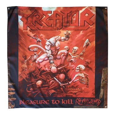 "Kreator Pleasure To Kill Flag 48"" x 48"""