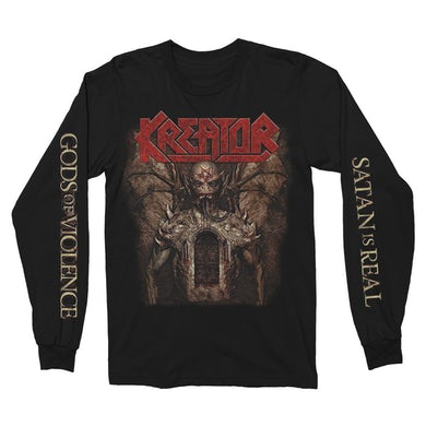 Kreator Gods of Violence Long Sleeve (Black)