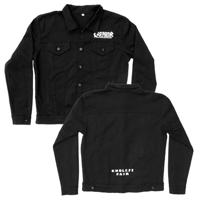 Kreator Endless Pain Custom Denim Jacket (Black)
