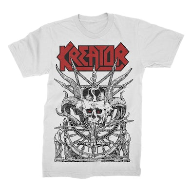Kreator Demon Altar T-Shirt (White)