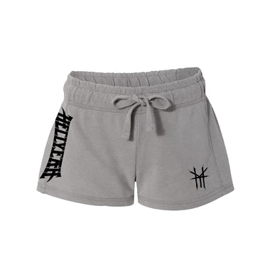 Hellyeah Logo Women's Shorts (Grey)