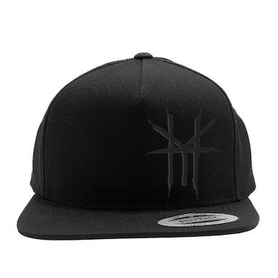 Hellyeah HY Logo Blackout Snapback (Black)