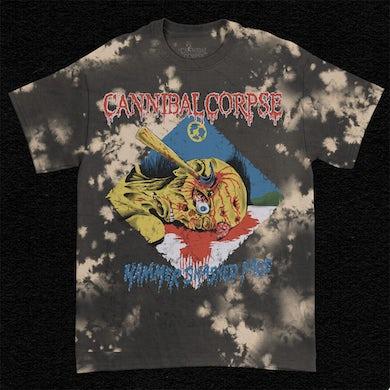Cannibal Corpse Hammer Smashed Face T-Shirt (Bleach Dye)