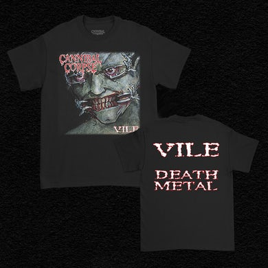 Cannibal Corpse Vile Death Metal T-Shirt (Black)