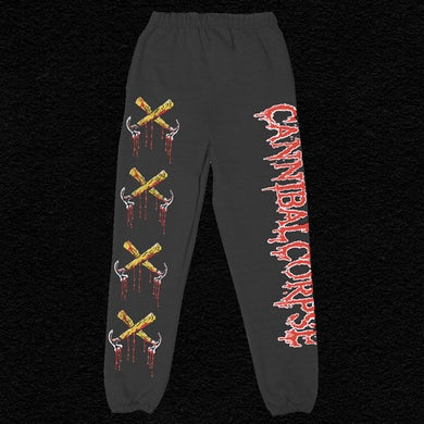Bloody Hammers Sweatpants (Black)