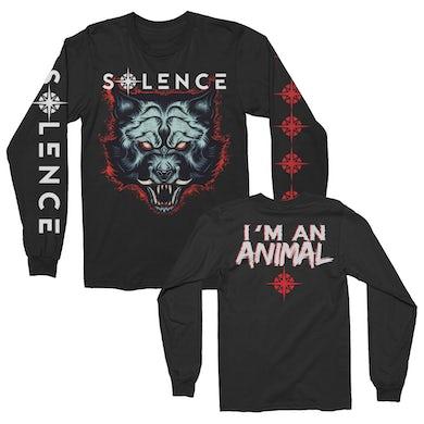 Solence  Animal In Me Long Sleeve Tee (Black)