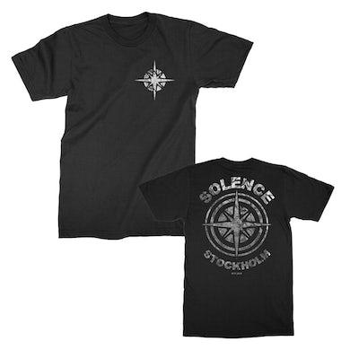 Solence  Compass Badge Tee (Black)
