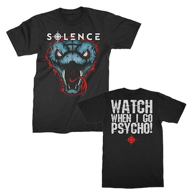 Solence  Snakes Tee (Black)