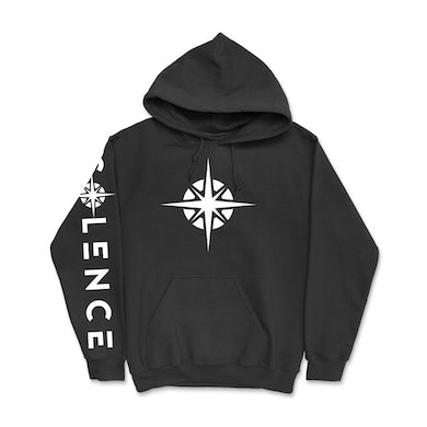 Compass Pullover Hoodie (Black)