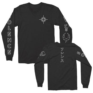 Icons Long Sleeve Tee (Black)