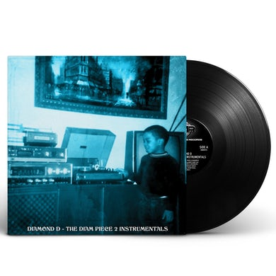 The Diam Piece 2: Instrumentals 2xLP (Vinyl)