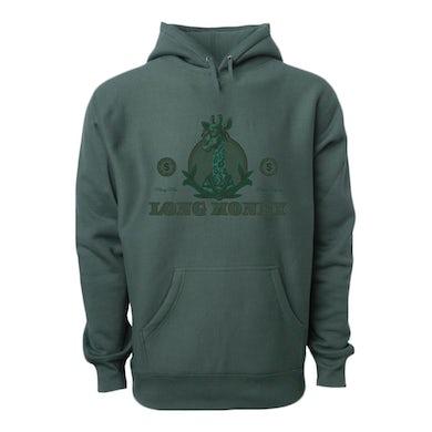 Money Man Long Money- Dark Green Hoodie