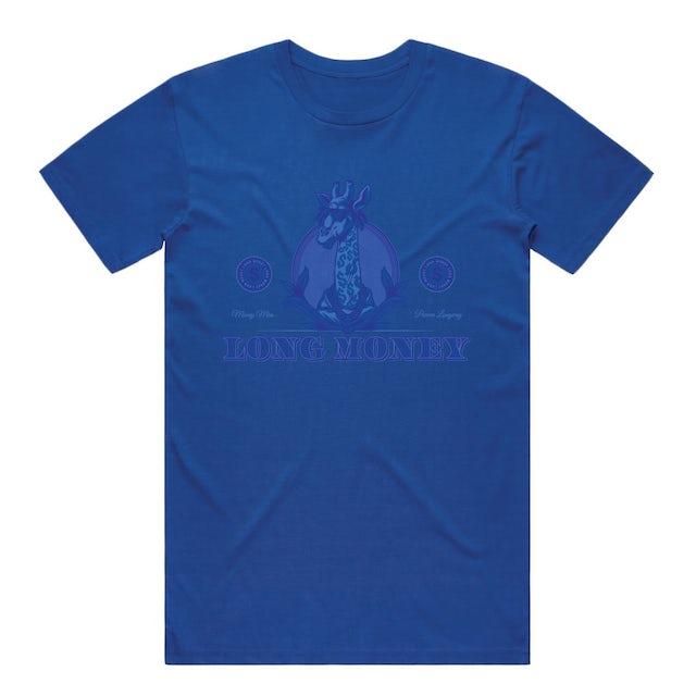 Money Man Long Money- Royal Blue Tee