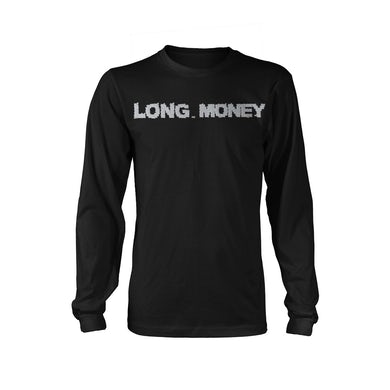 Money Man Long Money- Black Long sleeve