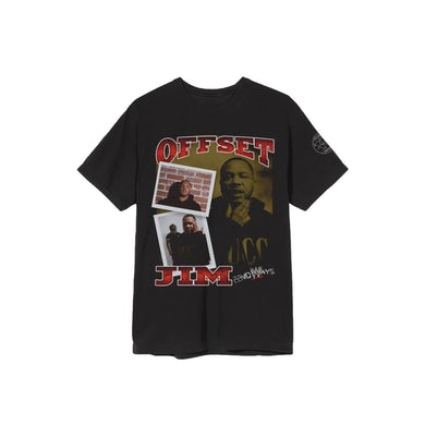 AllBlack 22nd Ways - Offset Jim Wrestler Tee