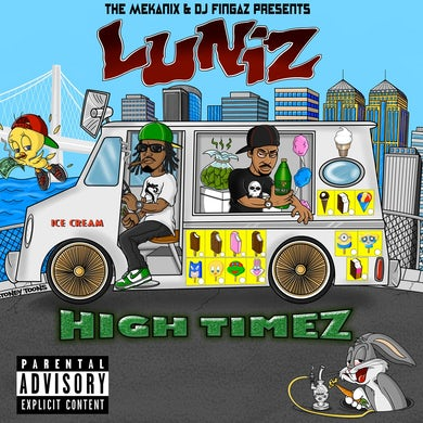 Luniz - High Timez CD