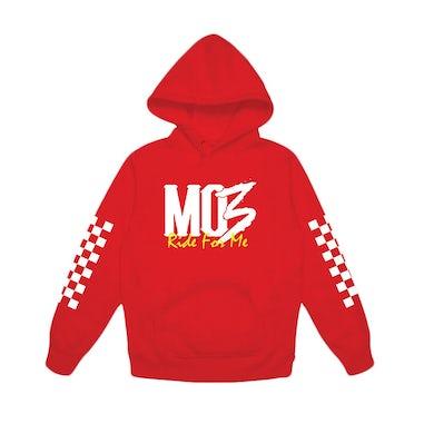 M03 Mo3 - Red Hoodie