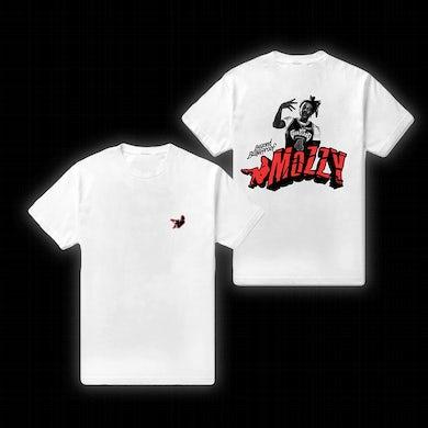 MOZZY - M Logo White Tee