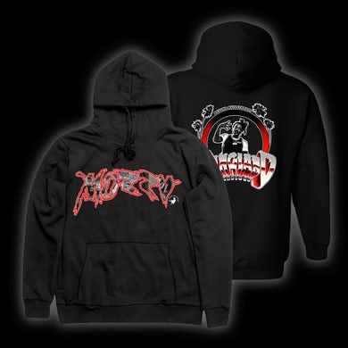 MOZZY - California Gangland Black Hoodie