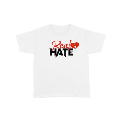 Philthy Rich - Real Hate - Heart White Tee + DL