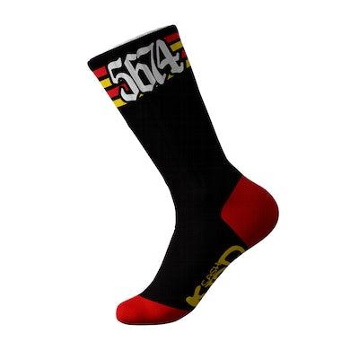 Cash Kidd - Black 5674 Socks
