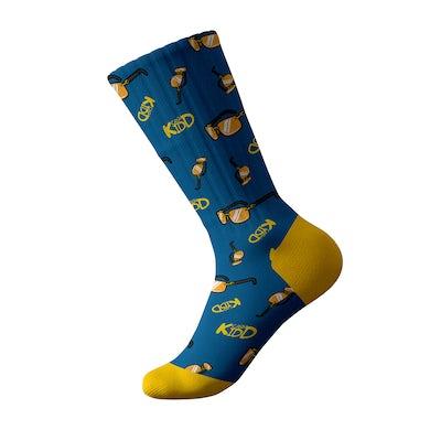 Cash Kidd - Blue Sunglasses Socks